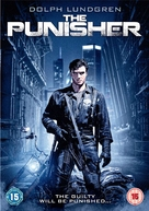 The Punisher - British DVD cover (xs thumbnail)