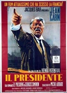 Le président - Italian Movie Poster (xs thumbnail)