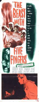 The Beast with Five Fingers - Movie Poster (xs thumbnail)