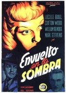 The Dark Corner - Spanish Movie Poster (xs thumbnail)