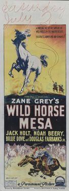 Wild Horse Mesa - Australian Movie Poster (xs thumbnail)