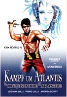 Il conquistatore di Atlantide - German Movie Poster (xs thumbnail)