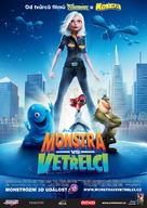 Monsters vs. Aliens - Czech Movie Poster (xs thumbnail)
