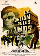 Conquest of the Planet of the Apes - Spanish Movie Poster (xs thumbnail)