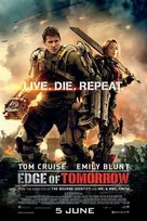Live Die Repeat: Edge of Tomorrow - Singaporean Movie Poster (xs thumbnail)