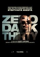 Zero Dark Thirty - Finnish Movie Poster (xs thumbnail)
