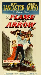 The Flame and the Arrow - Movie Poster (xs thumbnail)