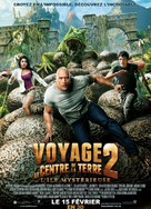 Journey 2: The Mysterious Island - French Movie Poster (xs thumbnail)