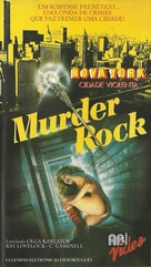 Murderock - uccide a passo di danza - Brazilian Movie Cover (xs thumbnail)