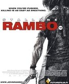 Rambo - Finnish Video release movie poster (xs thumbnail)
