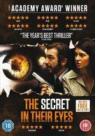 El secreto de sus ojos - British DVD cover (xs thumbnail)