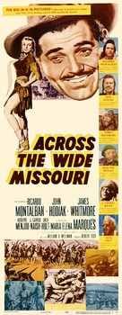 Across the Wide Missouri - Theatrical movie poster (xs thumbnail)