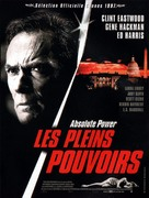 Absolute Power - French Movie Poster (xs thumbnail)