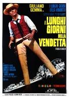 I lunghi giorni della vendetta - Italian Movie Poster (xs thumbnail)
