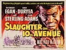 Slaughter on Tenth Avenue - British Movie Poster (xs thumbnail)