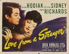 Love from a Stranger - Movie Poster (xs thumbnail)