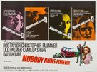 Nobody Runs Forever - British Movie Poster (xs thumbnail)