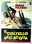 Nóz w wodzie - Italian Movie Poster (xs thumbnail)