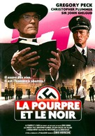 The Scarlet and the Black - French DVD movie cover (xs thumbnail)