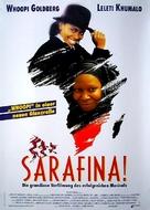 Sarafina! - German Movie Poster (xs thumbnail)