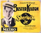 Sherlock Jr. - British Movie Poster (xs thumbnail)