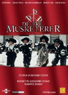 The Four Musketeers - Danish DVD cover (xs thumbnail)