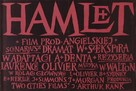 Hamlet - Polish Movie Poster (xs thumbnail)