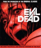 Evil Dead - Blu-Ray movie cover (xs thumbnail)