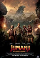 Jumanji: Welcome to the Jungle - South African Movie Poster (xs thumbnail)