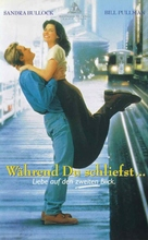 While You Were Sleeping - German VHS movie cover (xs thumbnail)