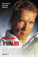 True Lies - Theatrical movie poster (xs thumbnail)