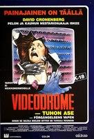 Videodrome - Finnish Movie Cover (xs thumbnail)