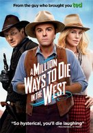 A Million Ways to Die in the West - DVD movie cover (xs thumbnail)
