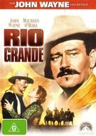 Rio Grande - Australian DVD cover (xs thumbnail)