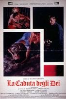 La caduta degli dei (Götterdämmerung) - Italian Movie Poster (xs thumbnail)