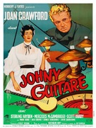Johnny Guitar - French Movie Poster (xs thumbnail)