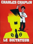 The Great Dictator - French Movie Poster (xs thumbnail)