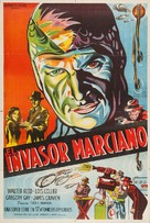 Flying Disc Man from Mars - Argentinian Movie Poster (xs thumbnail)
