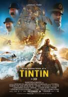 The Adventures of Tintin: The Secret of the Unicorn - New Zealand Movie Poster (xs thumbnail)