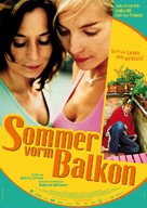 Sommer vorm Balkon - German Movie Poster (xs thumbnail)
