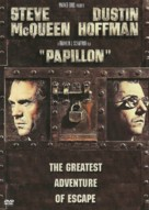 Papillon - DVD cover (xs thumbnail)