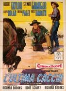 The Last Hunt - Italian Movie Poster (xs thumbnail)
