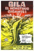 The Giant Gila Monster - Spanish Movie Poster (xs thumbnail)