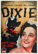 Dixie - Swedish Movie Poster (xs thumbnail)