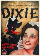 Dixie - Swedish Movie Poster (xs thumbnail)
