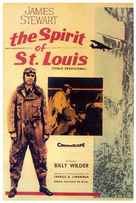 The Spirit of St. Louis - Mexican Movie Poster (xs thumbnail)