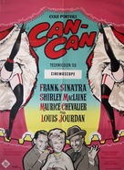 Can-Can - Danish Movie Poster (xs thumbnail)