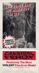 Cannibal ferox - Movie Poster (xs thumbnail)