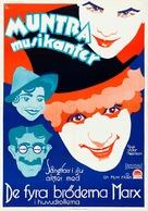 Animal Crackers - Swedish Movie Poster (xs thumbnail)