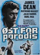 East of Eden - Danish Movie Poster (xs thumbnail)